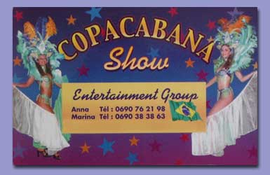 Copacabana business card