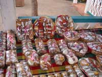 packages of various spices